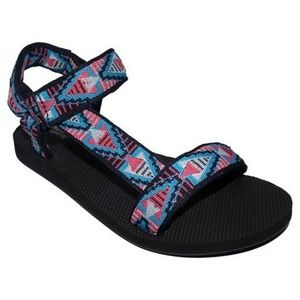 Mossimo Boho Tribal Print Strappy Hiking Sandals
